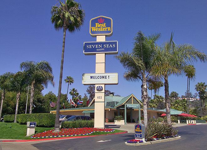 san diego hotel best western seven seas