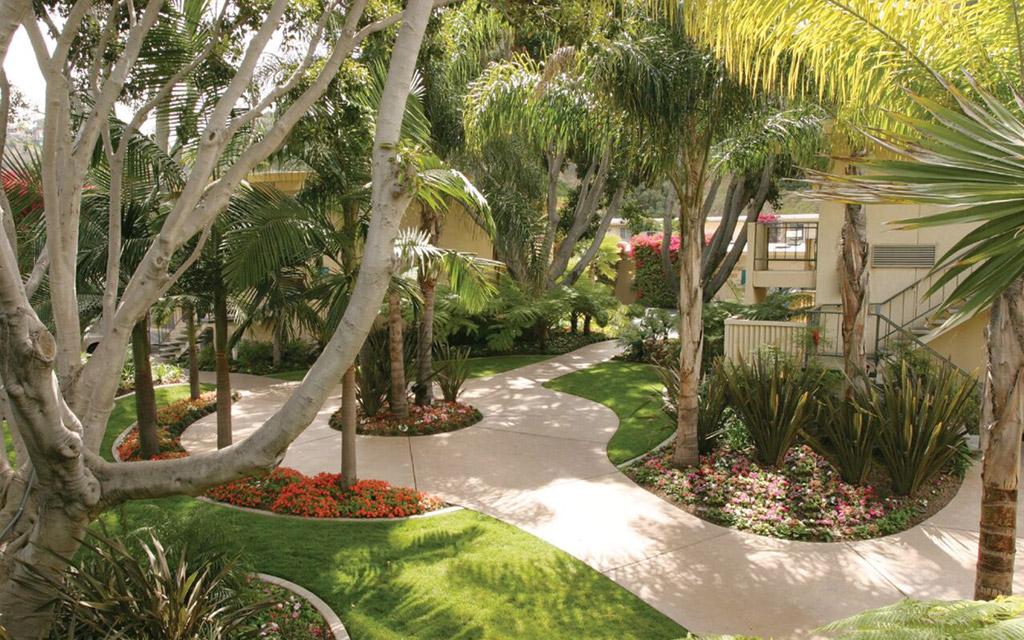 Best Western Seven Seas - Courtyard
