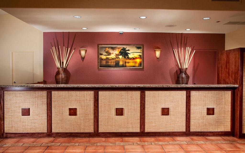 Best Western Seven Seas - Hotel Reception