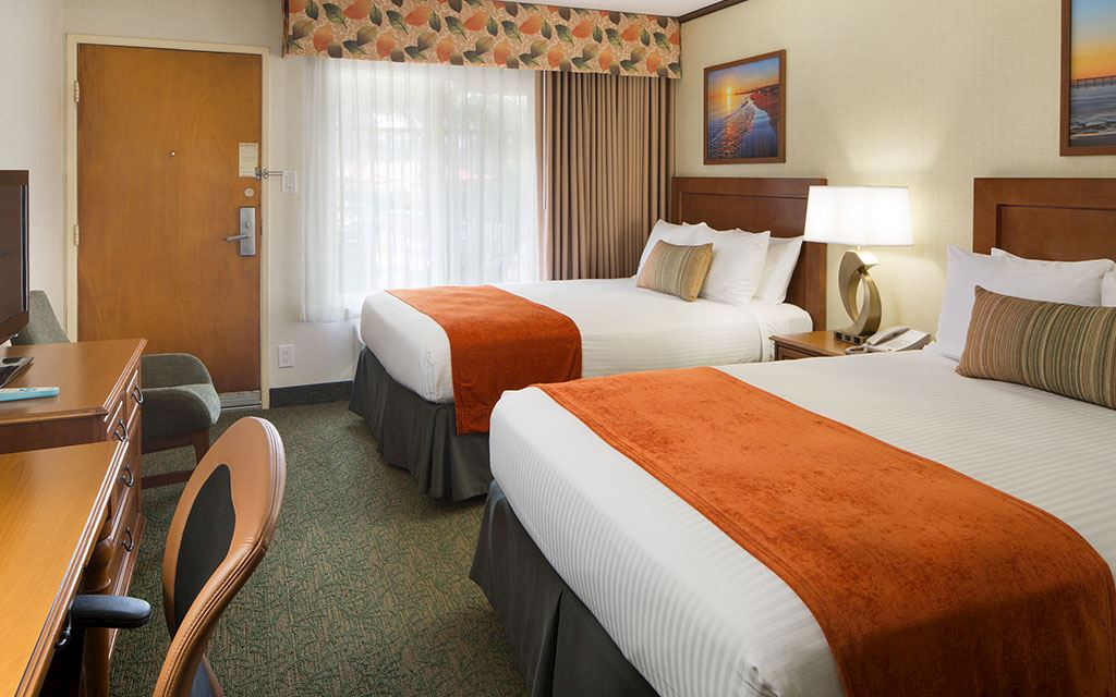 Best Western Seven Seas - Double Beds Guest Rooms