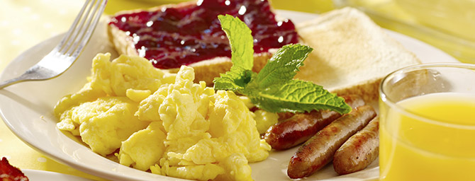 San Diego Dining - Breakfast at Seven Seas Café - Hearty & Healthy