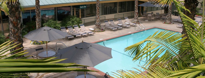 San Diego Pool at Best Western Seven Seas