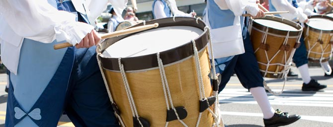 San Diego Events - Mother Goose Parade - Floats, Bands, & Giant Balloons