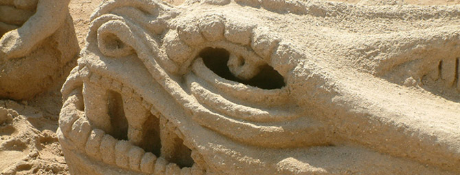 Sand Sculpting Challenge and 3D Art Exposition