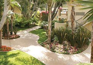 Courtyard of BEST WESTERN Seven Seas, San Diego