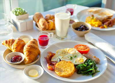 Breakfast Package at San Diego Hotel